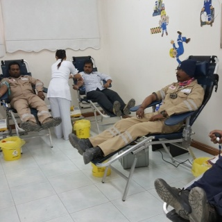 Blood Donation Campaign by SIMC - ISCO - Integral Services Co. for Mechanical Contracting & Instrumentation WLL - Multi Disciplinary Contractor in Kuwait