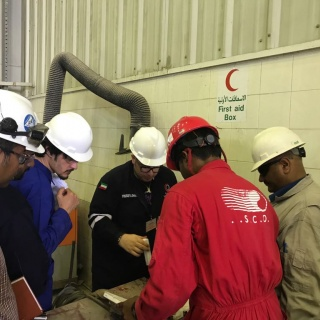 SIMC's Visit & Inspection of ISCO Workshop - ISCO - Integral Services Co. for Mechanical Contracting & Instrumentation WLL - Multi Disciplinary Contractor in Kuwait