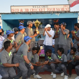 ISCO-3B Cricket Tournament - ISCO - Integral Services Co. for Mechanical Contracting & Instrumentation WLL - Multi Disciplinary Contractor in Kuwait