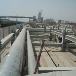 Replacement/ Installation of IRT Pipe lines in KNPC Shuiaba Refinery  - ISCO - Integral Services Co. for Mechanical Contracting & Instrumentation WLL - Multi Disciplinary Contractor in Kuwait